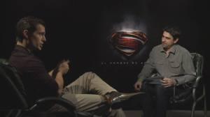 Nuestro Matías Lértora cara a cara con el nuevo Superman, Henry Cavill