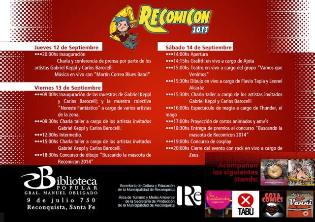 recomicon crono