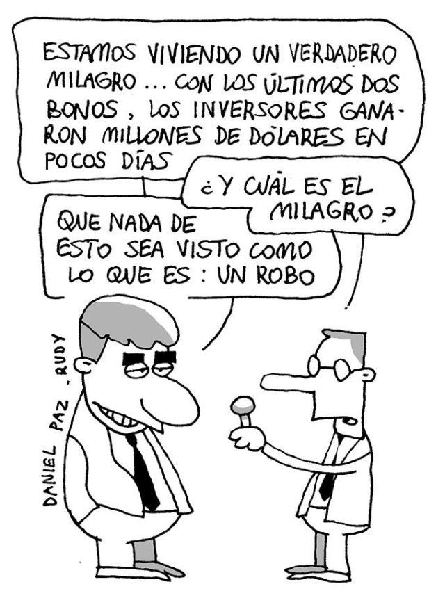 Humor político (71) – Rudy y Paz – Página/12 – Política nacional ...