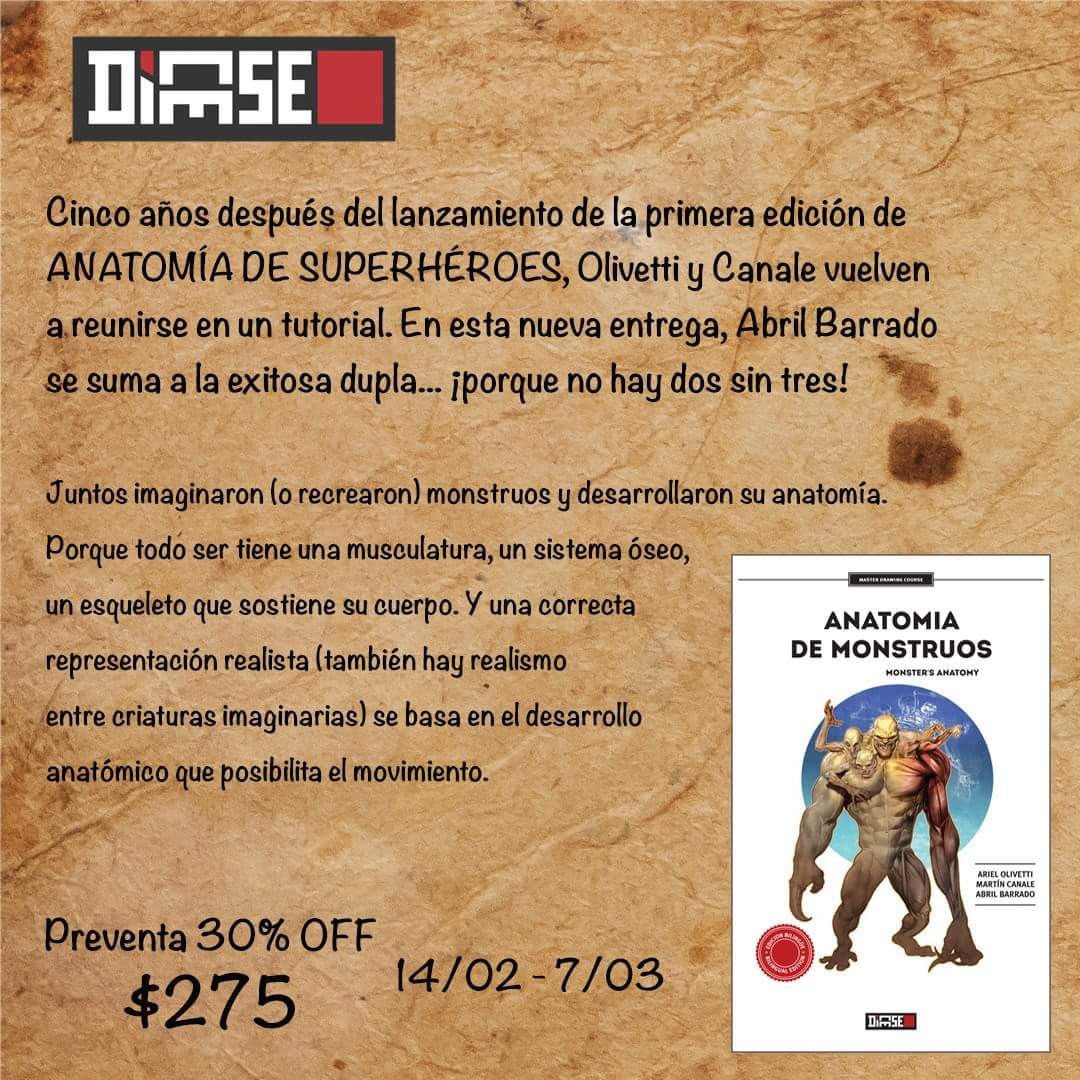 """Preventa online del libro """"Anatomía de monstruos"""", de Olivetti ..."""